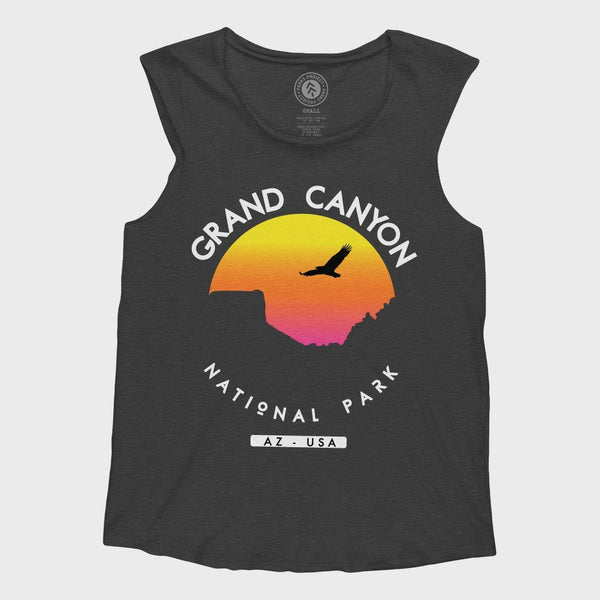 product: Parks Project Grand Canyon Sunset Sleeveless Tank Black