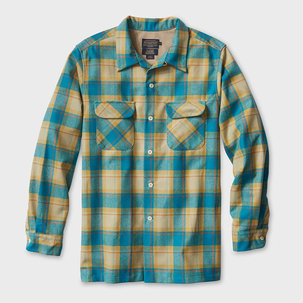 product: Pendleton Surf Pendleton Board Shirts Copper/Turq