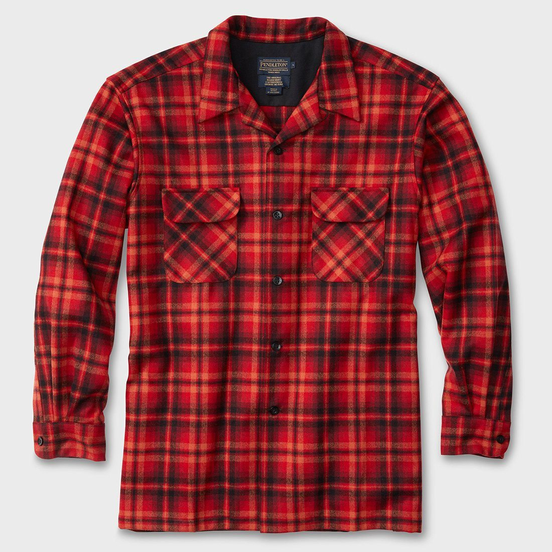 Pendleton Board Shirt Red/Copper