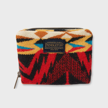product: Pendleton Mini Accordian Wallet Echo Parks Black