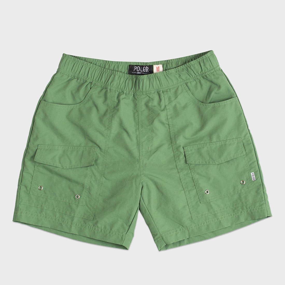 Poler Camp Volley Short Lime