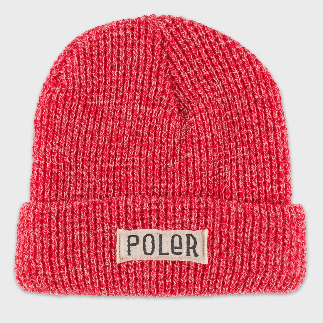 Poler Workerman Beanie Red Heather