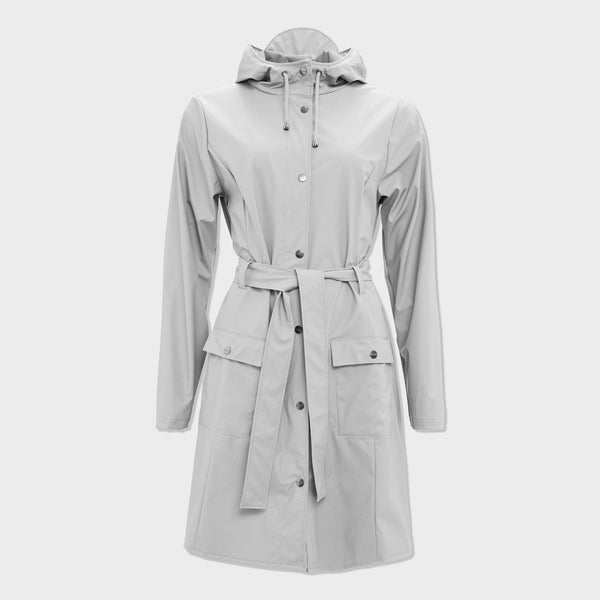 product: RAINS Women's Curve Jacket Stone