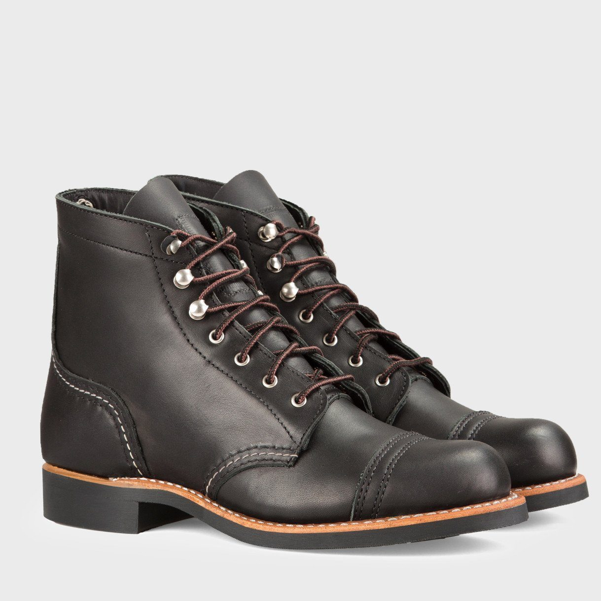 Red Wing Women's Iron Ranger Boot Black Boundary Leather