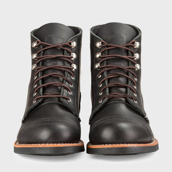product: Redwing Iron Ranger Black Boudary Leather