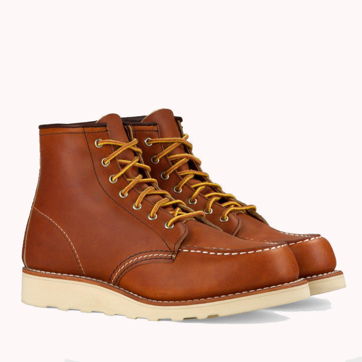 Red Wing Women's 6 Inch Moc Boot Oro Legacy Leather