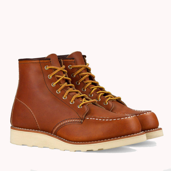 product: Redwing 6 Inch Moc Oro Legacy Leather