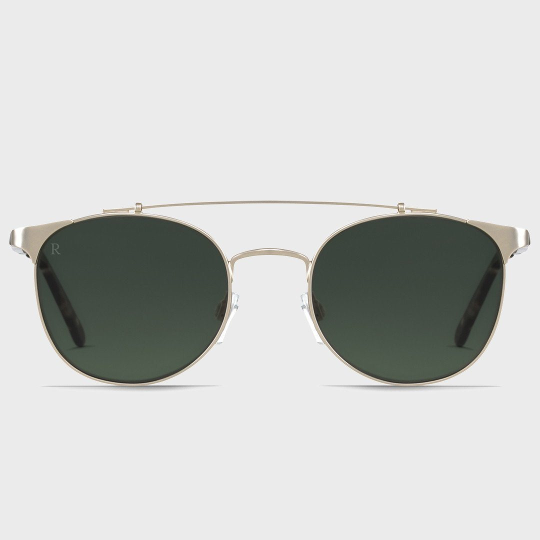 Raen Raleigh Brindle Tortoise + Japanese Gold (Polarized)