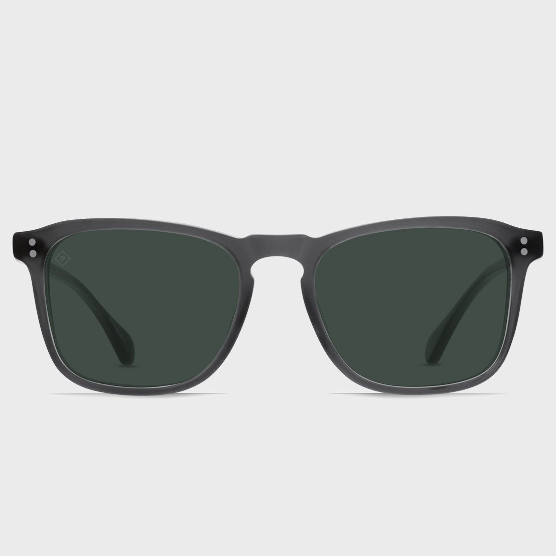 Raen Wiley Sunglasses Matte Grey Crystal (Polarized)