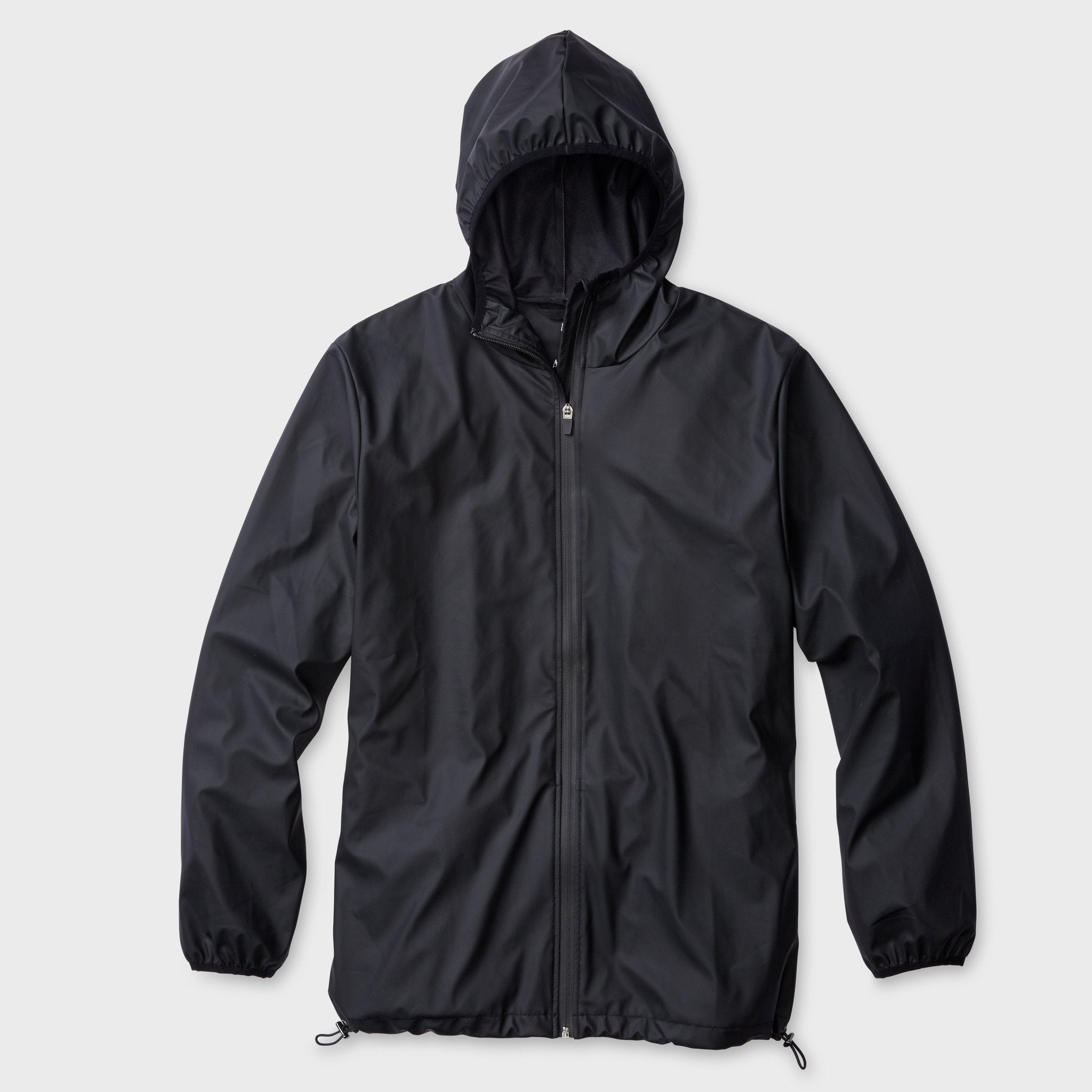 RAINS Unisex Base Jacket Black