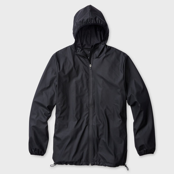 product: RAINS Base Jacket Black
