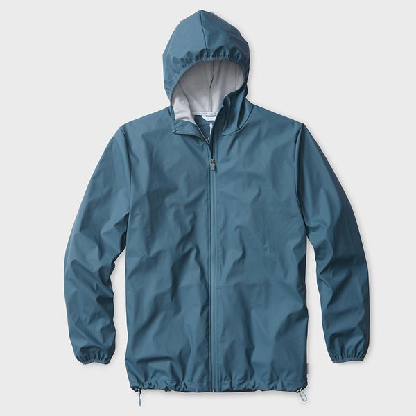 product: RAINS Base Jacket Blue