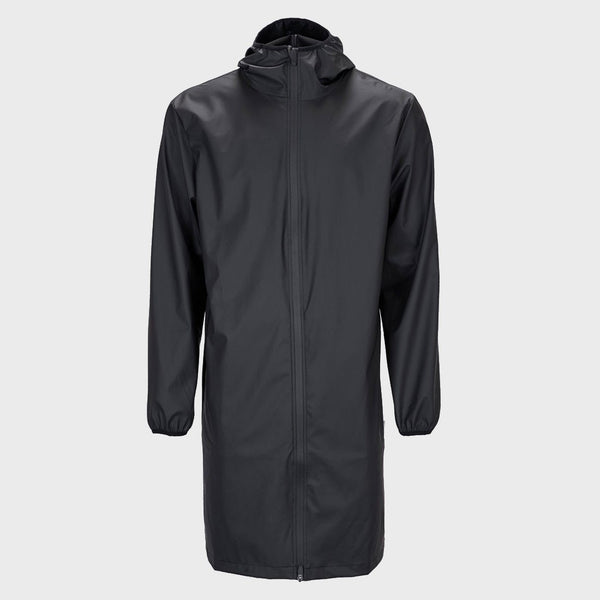 product: RAINS Base Jacket Long Black
