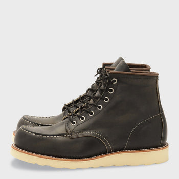 product: Redwing 6 Inch Classic Moc Charcoal Rough Tough