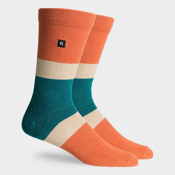 product: Richer Poorer Chief Crew Sock Black Multi