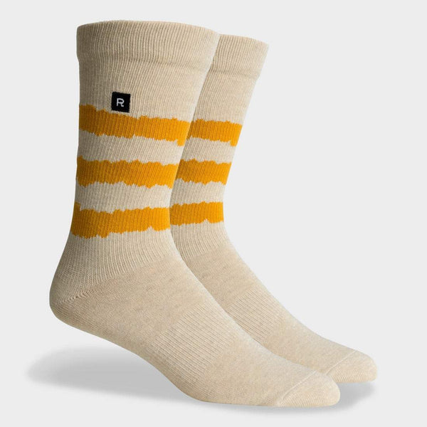 product: Richer Poorer Rambler Midweight Sock Oatmeal Gold