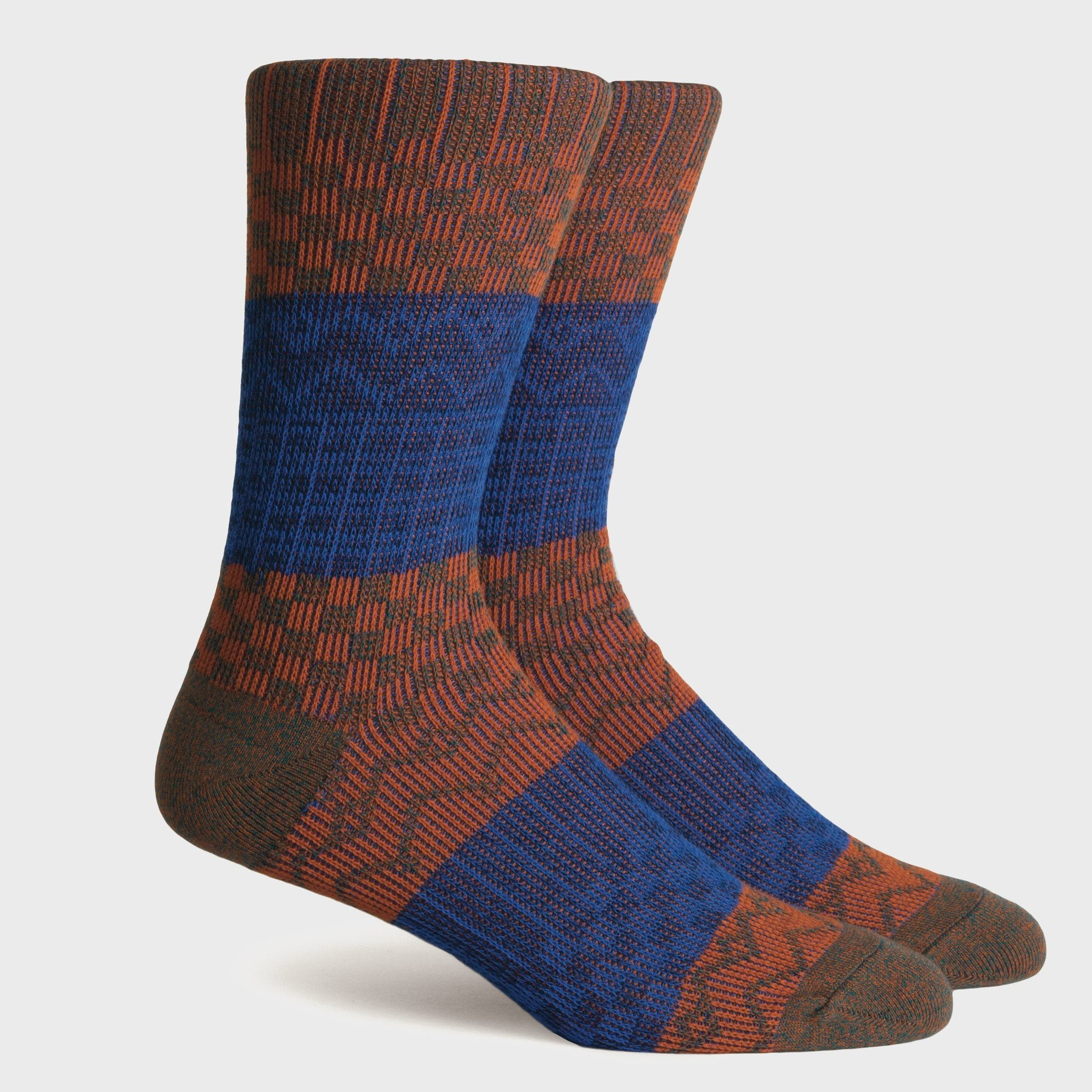 Richer Poorer Gilgamesh Socks Green/Orange
