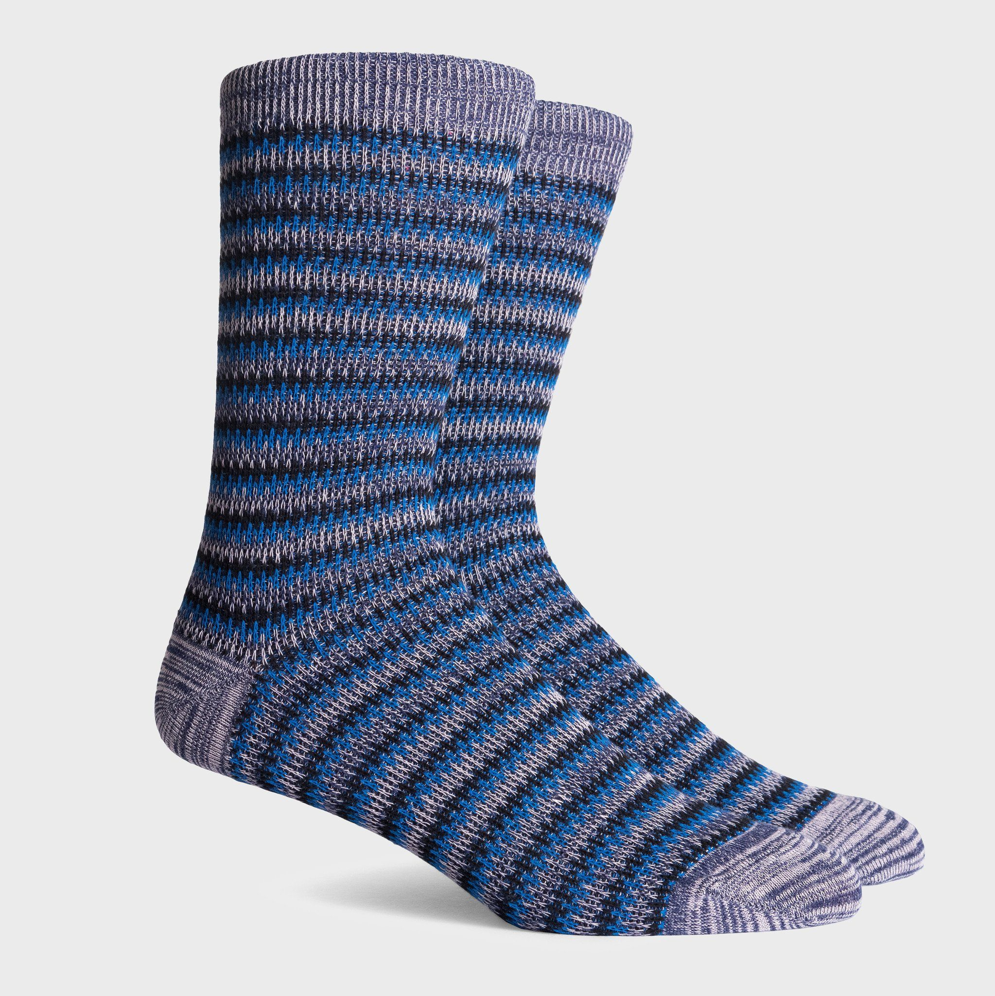 Richer Poorer Lobos Socks Navy/Blue