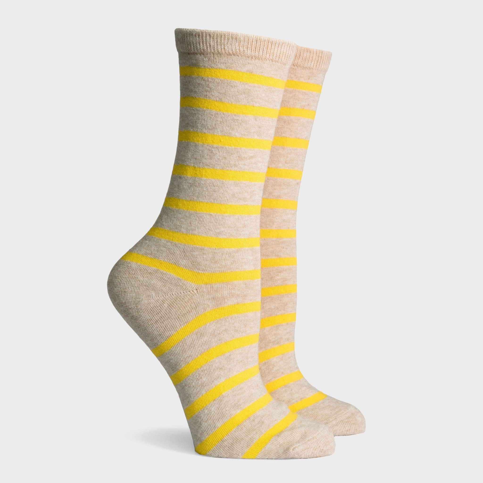 Richer Poorer Nora Women's Socks Oatmeal Yellow