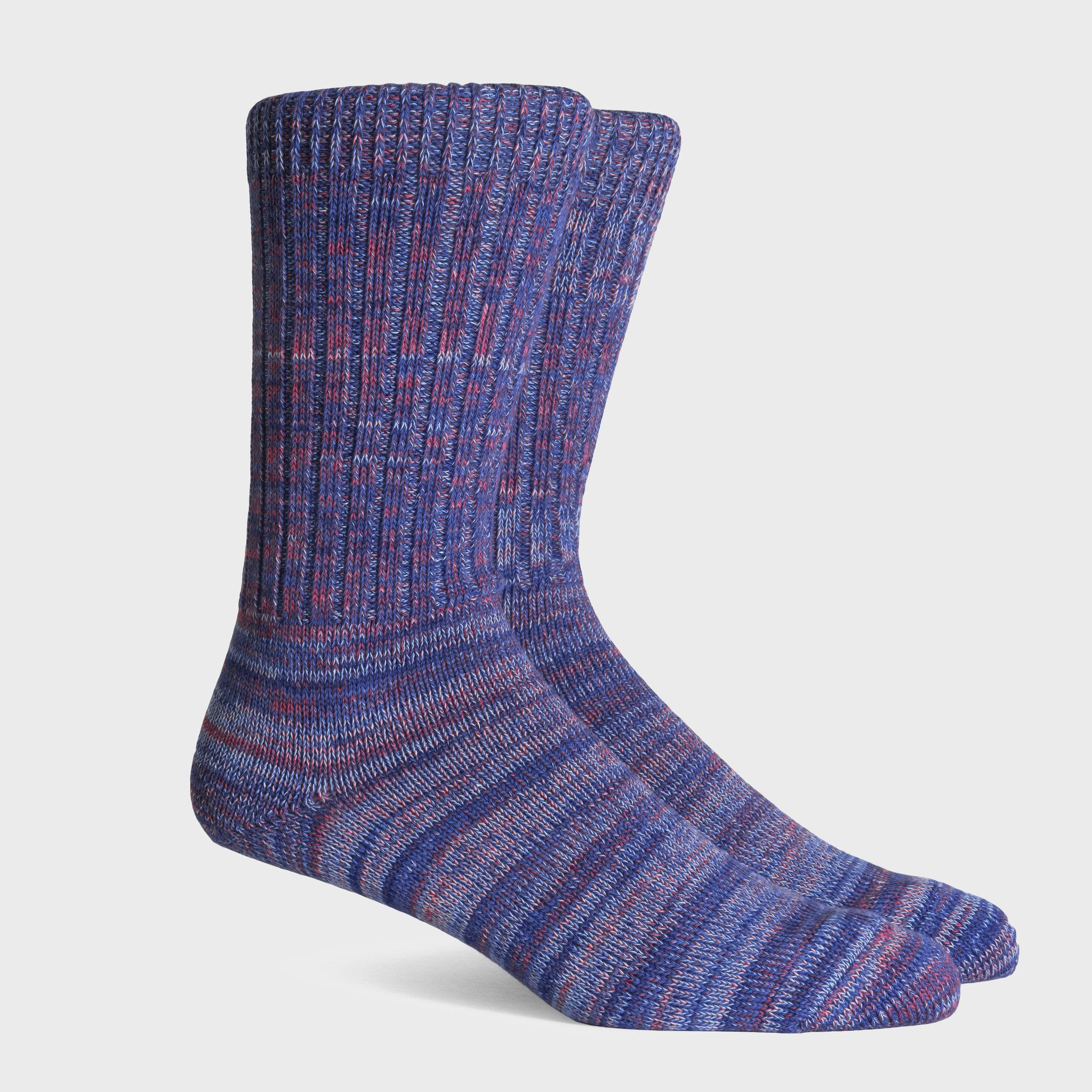 Richer Poorer Wayfarer Socks Blue