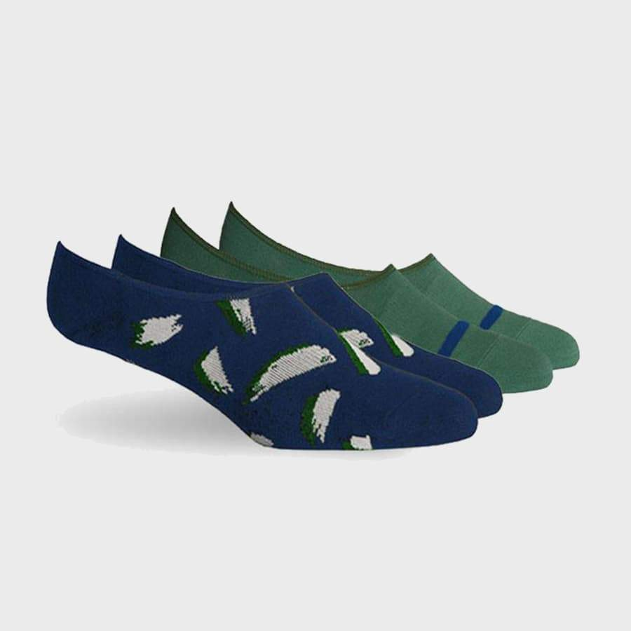 Richer Poorer Chad 2 Pack Green/Navy