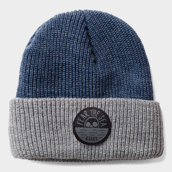 product: Roark Fear the Sea Beanie Charcoal