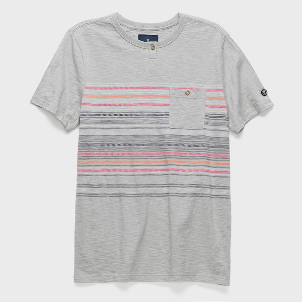 product: Roark Mahabs Knit T-shirt Grey