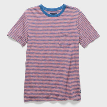 product: Roark Masala Knit T-shirt Rose