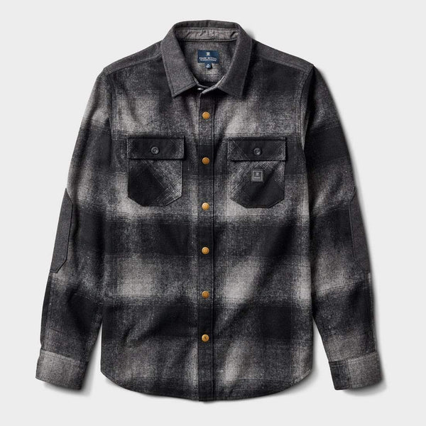 product: Roark Nordsman Flannel Charcoal