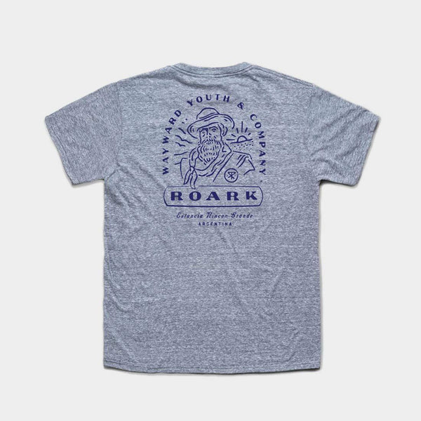 product: Roark Vagabundo T-Shirt Heather Grey