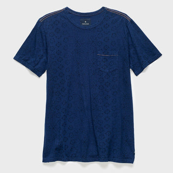 product: Roark Well Worn T-shirt Indigo