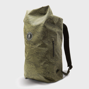 product: Roark Missing Link Wet Dry Backpack Green
