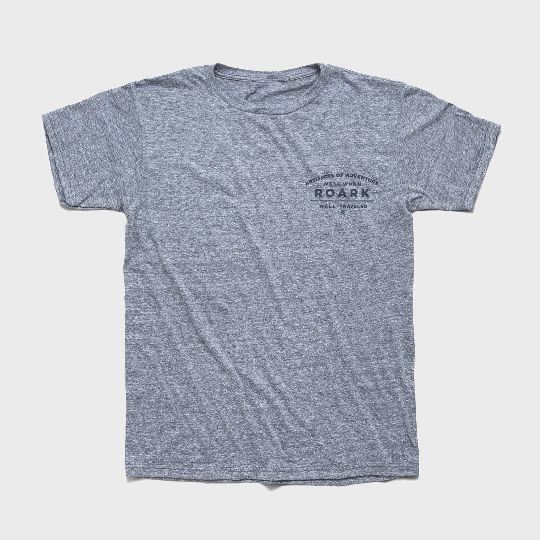 Roark Well Traveled Tee Heather Grey