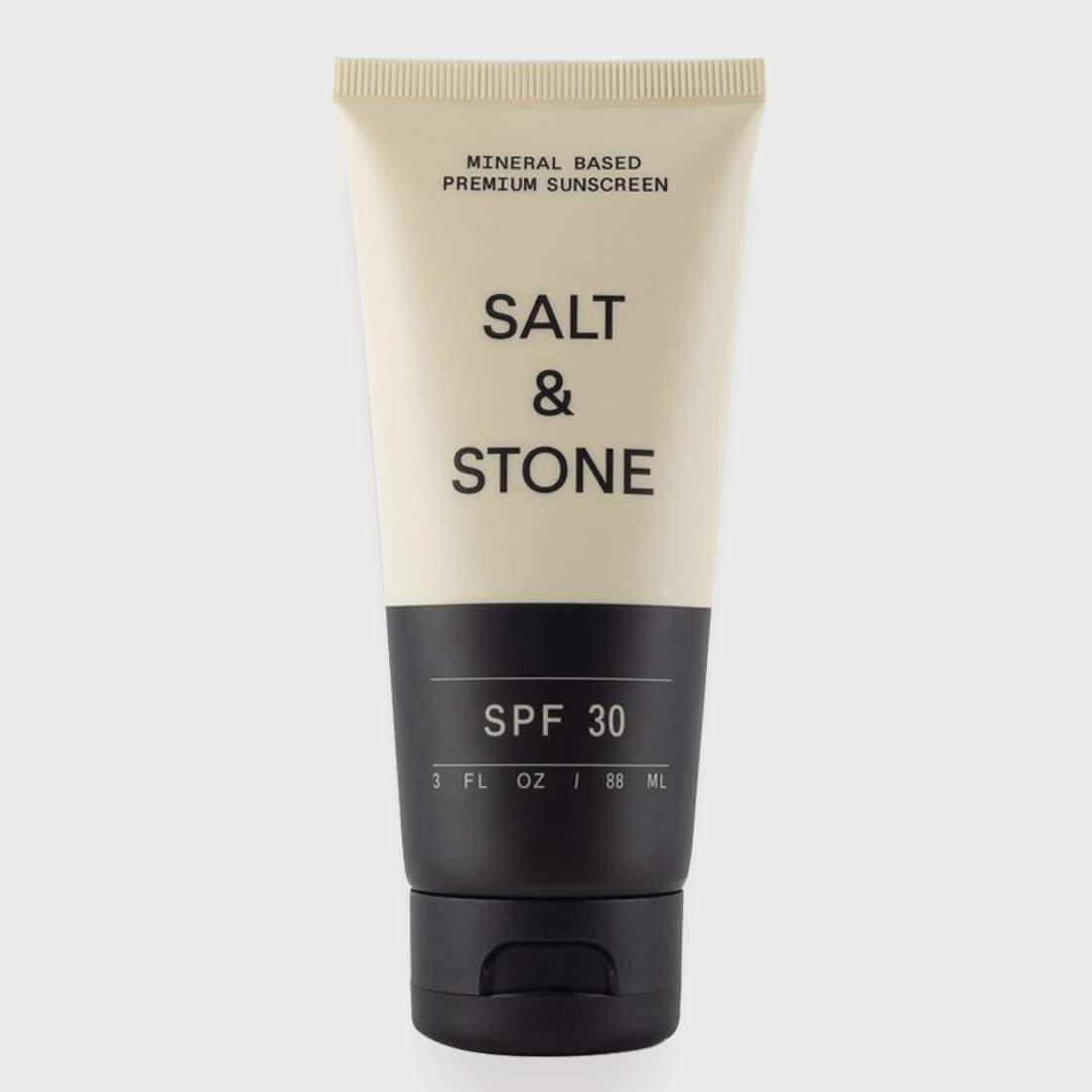 Salt and Stone Mineral Based SPF 30 Sunscreen Lotion Black