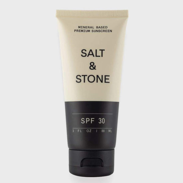 product: Salt and Stone Mineral Based SPF 30 Sunscreen Lotion Black
