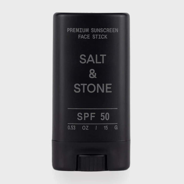 product: Salt and Stone All Natural SPF50 Face Stick Black