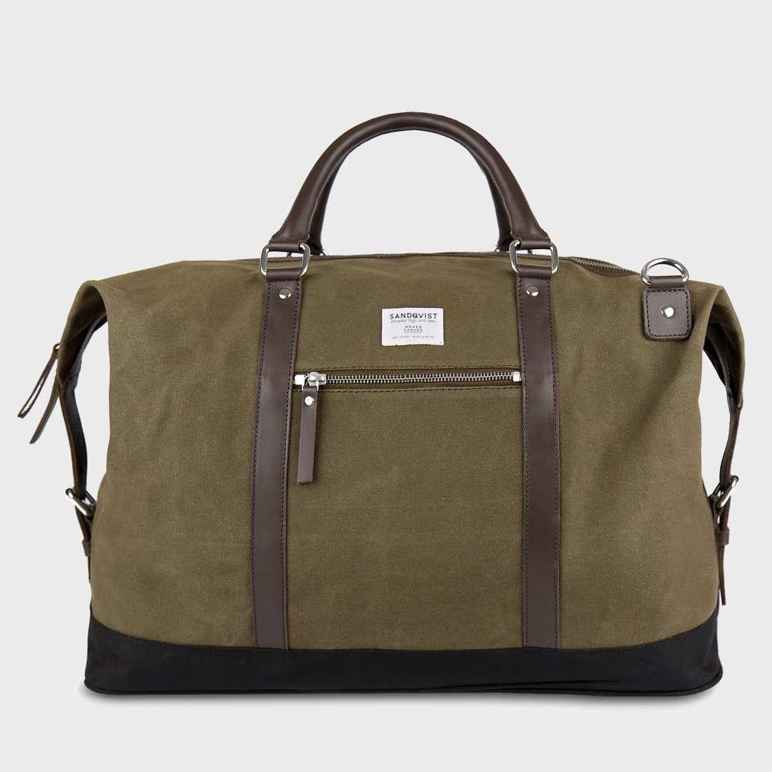 Sandqvist Jordan Weekend Bag Waxed Olive