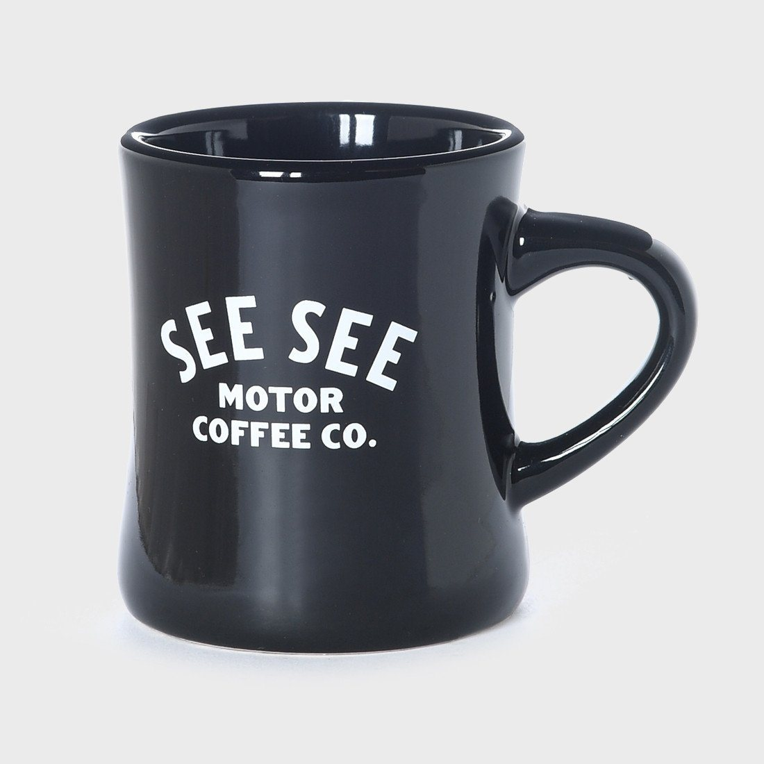 See See Motorcycles Motor Coffee Diner Mug Black