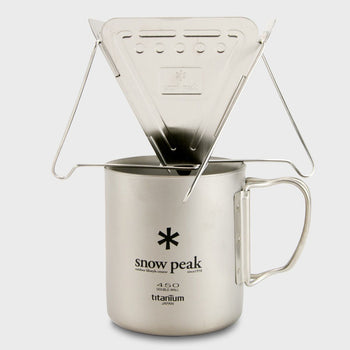 product: Snow Peak Collapsable Coffee Drip Stainless Steel