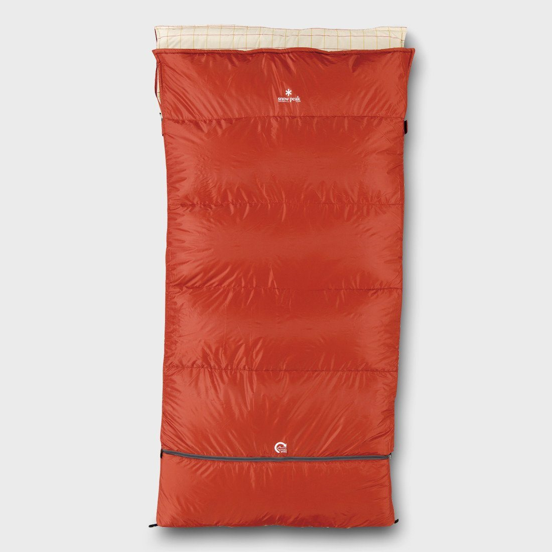 Snow Peak Ofutan Sleeping Bag, Wide XL Red