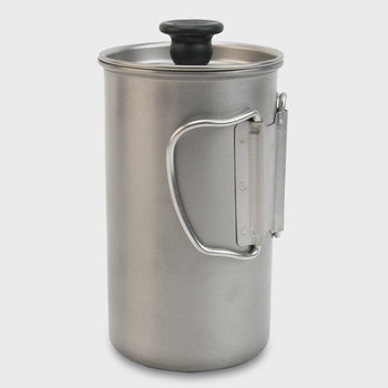 product: Snow Peak Titanium French Press Titanium / Stainless Steel