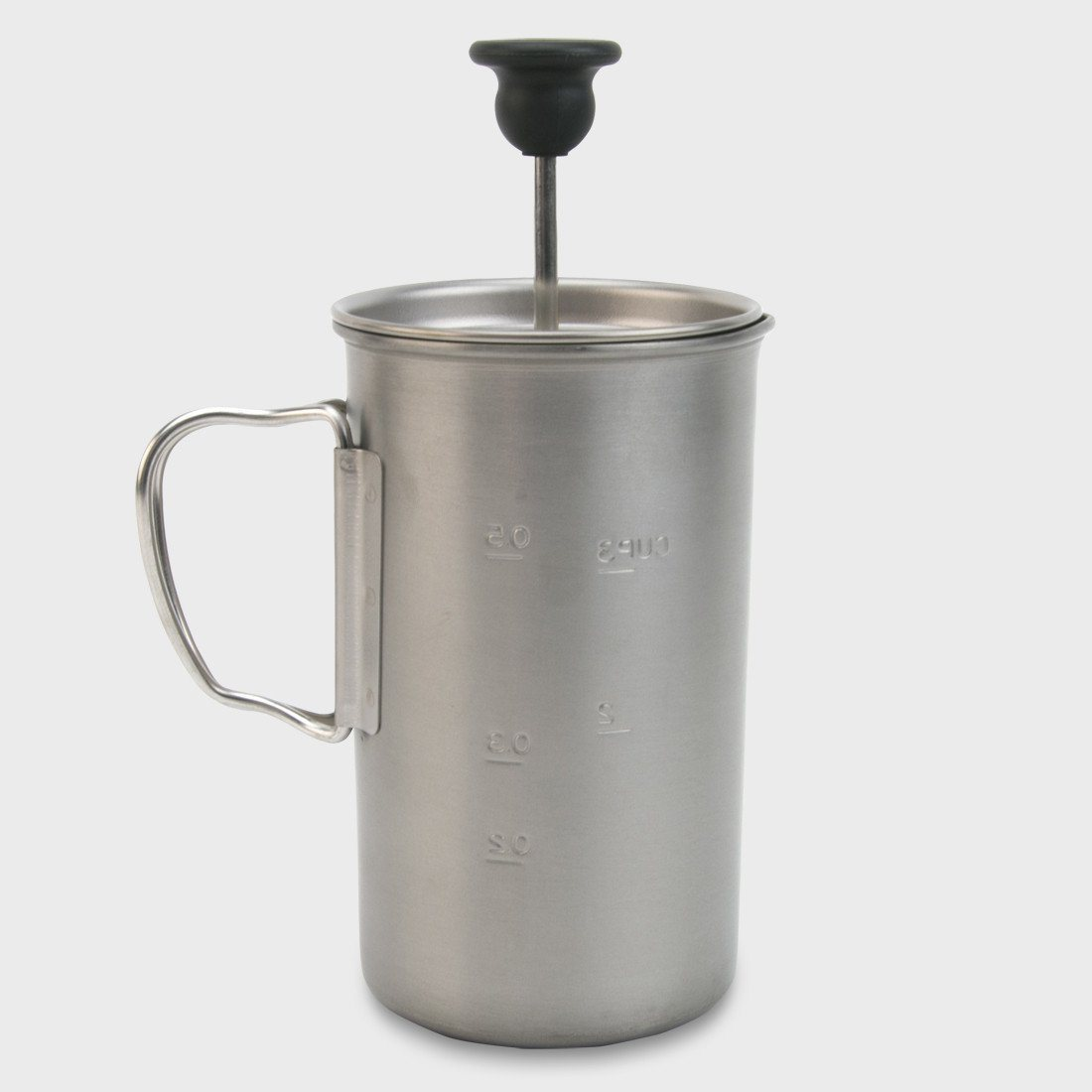 Snow Peak Titanium French Press Titanium / Stainless Steel