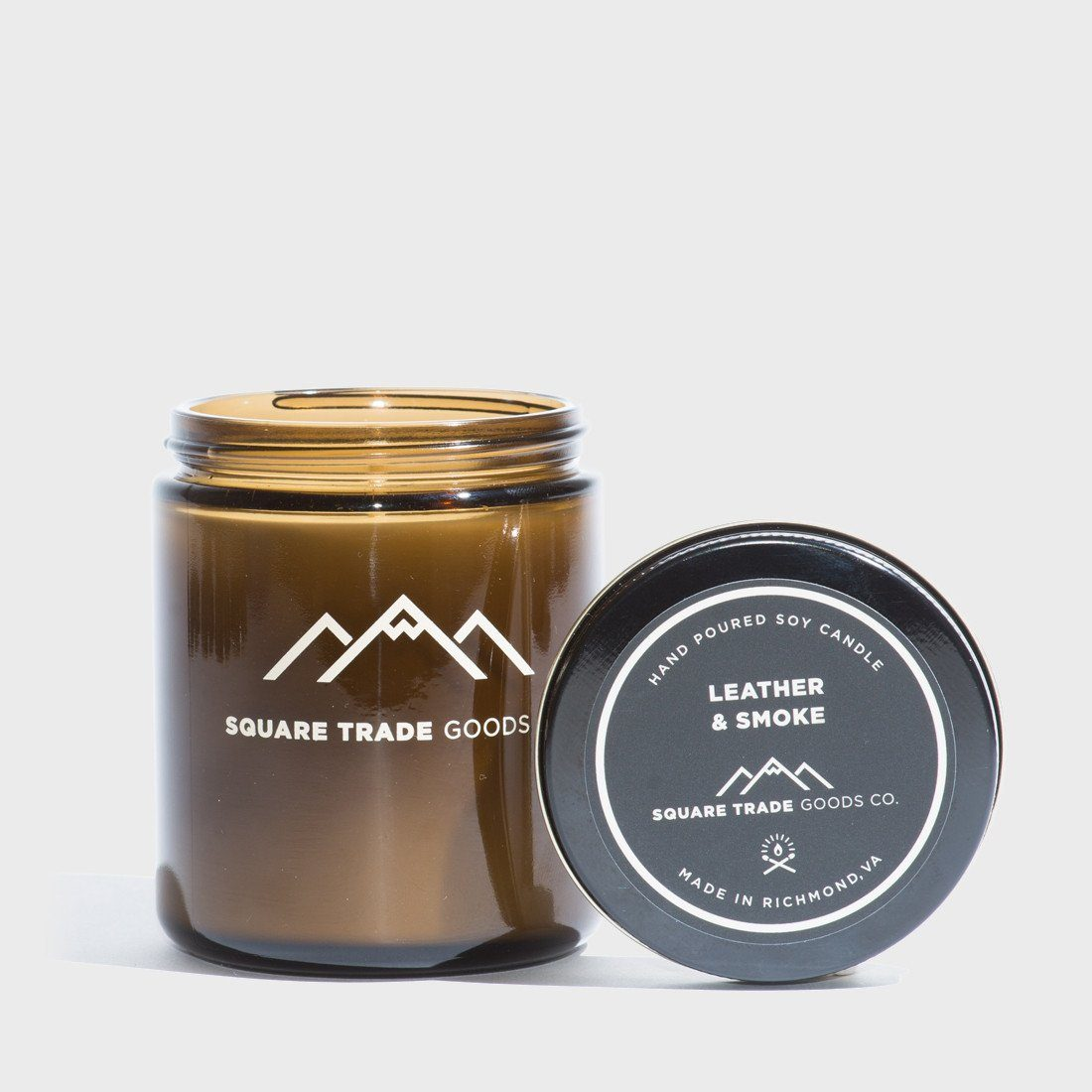 Square Trade Goods Leather And Smoke 8 oz