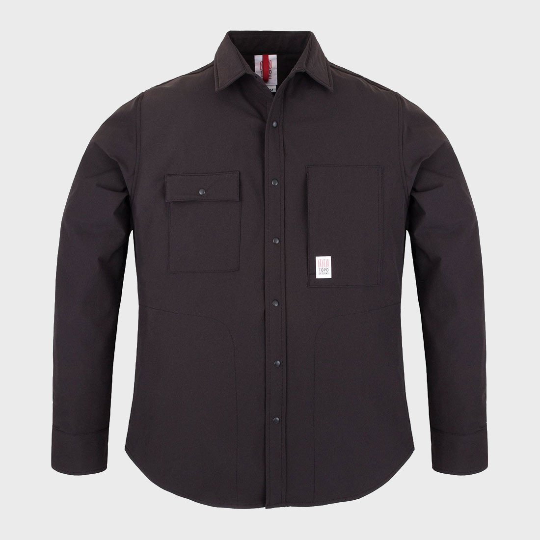 TOPO Designs Breaker Shirt Jacket Black