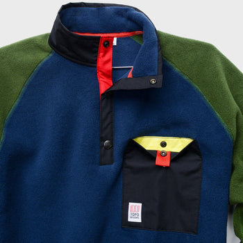 product: TOPO Designs Mountain Fleece Navy/Olive