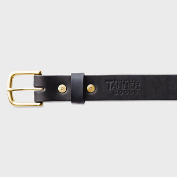 product: Tanner Goods Classic Belt Black