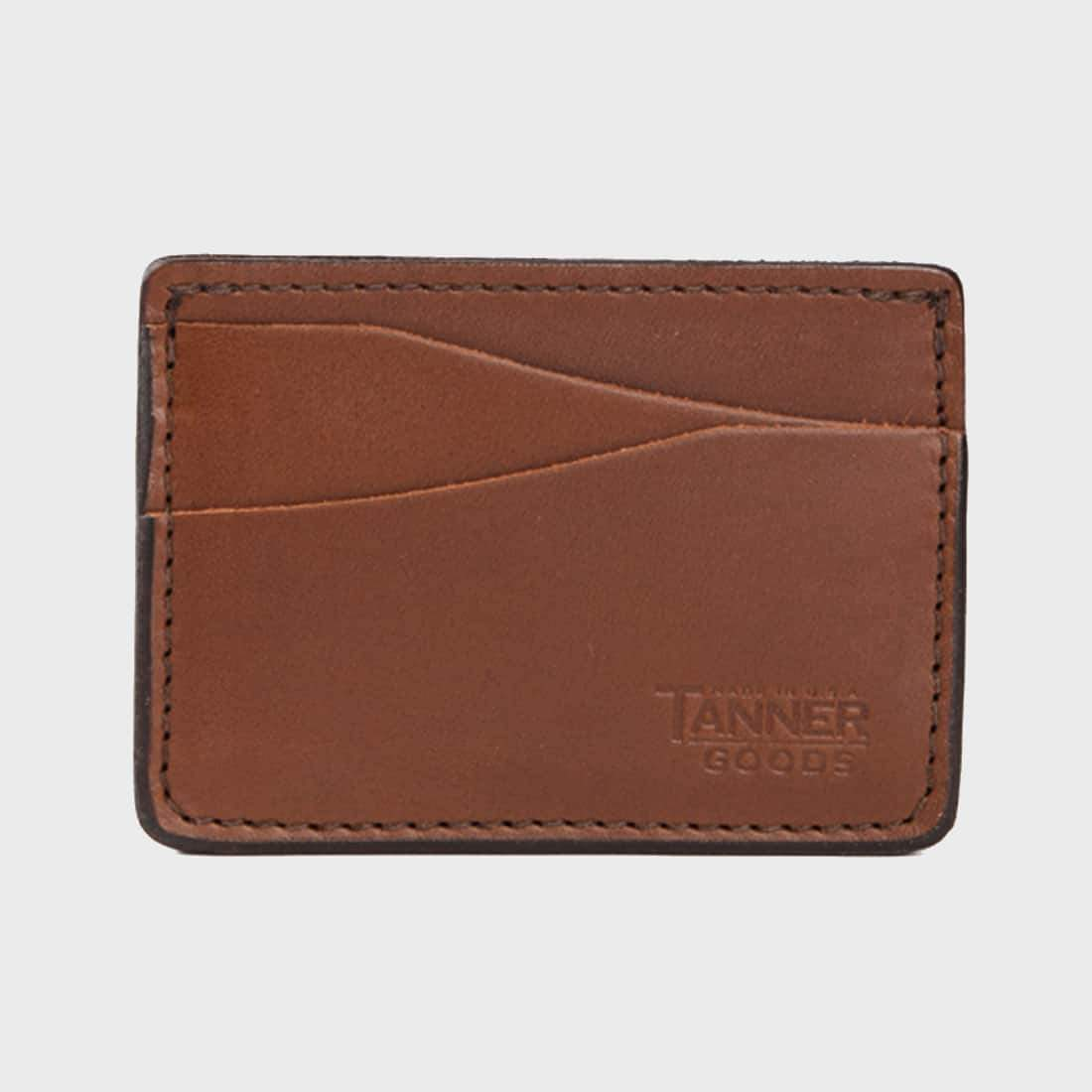 Tanner Goods Journeyman Wallet Caramel
