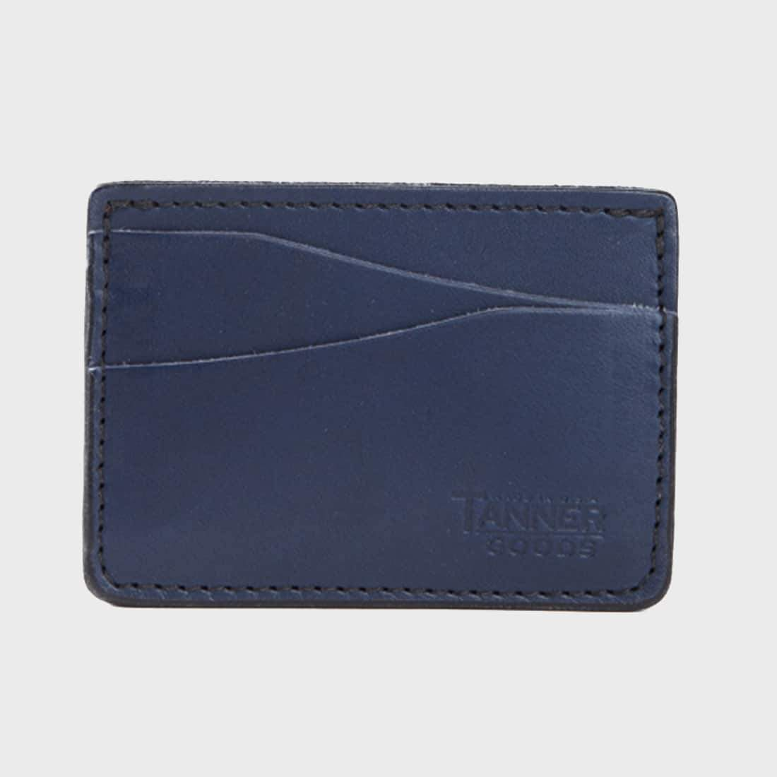 Tanner Goods Journeyman Wallet Cobalt