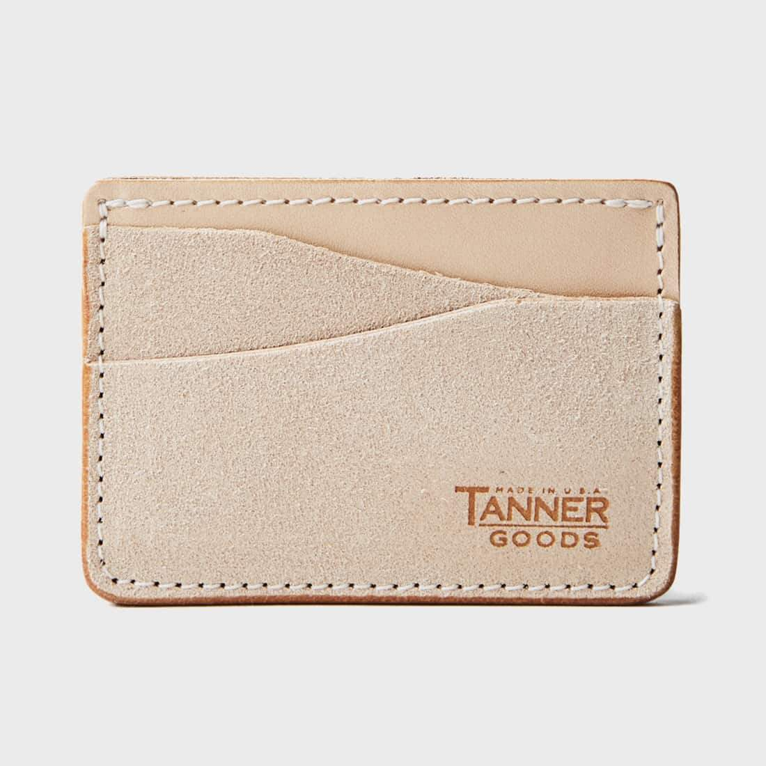 Tanner Goods Journeyman Wallet Natural Roughout