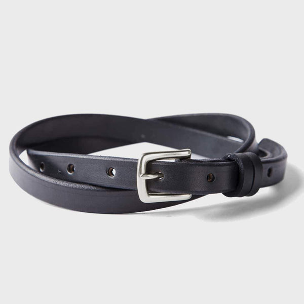 product: Tanner Goods Narrow Belt Black